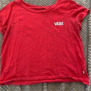 vans short shirt